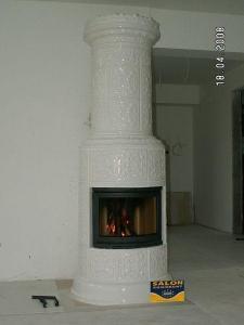 kominek do salonu 152