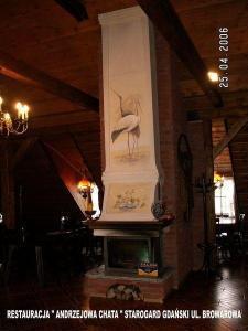 kominek do salonu 234